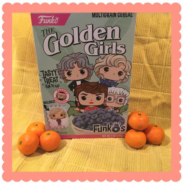 Golden Girls cereal box