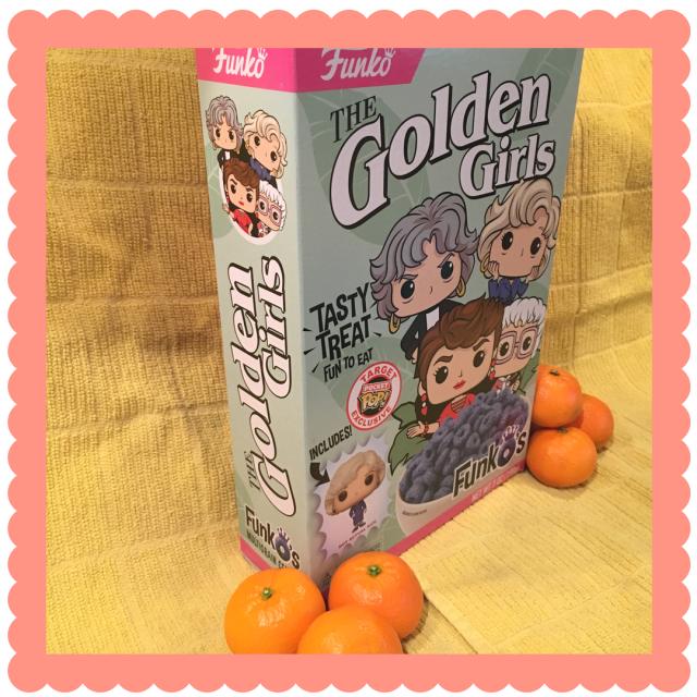 Golden Girls cereal box side