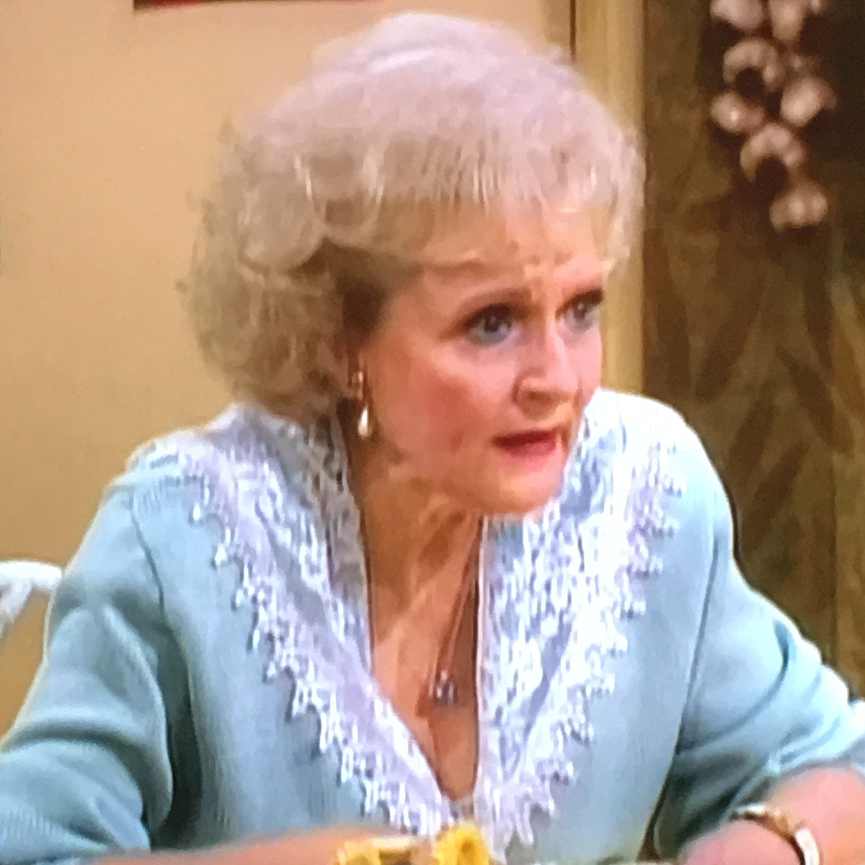 Fashion As Tension In Dorothy S New Friend The Golden Girls Fashion Corner
