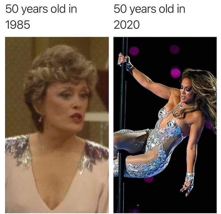 Blanche Vs J Lo On Memes And Aging The Golden Girls Fashion Corner